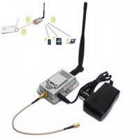 Wholesale 2W b g Mbps Celular Signal Booster Antenna Amplifier Router for G Wireless WiFi LAN Repeater EU US Plug