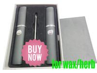 vaporizer - Dual Dry Herb Micro Vaporizer kit G mah Dry Herbal Vaporizerz Wax Pen kits Action Bronson AAAA qaulity