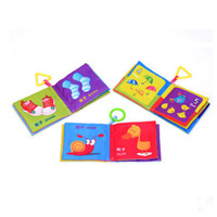 Wholesale 0 Years Old Young Children s Educational Toys Baby Cloth Book Baby Cloth Book Series To Tear Not Rotten Cloth Cognize Book