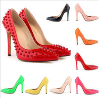 studded shoes - 2015 New Arrival Women Pumps Studded Spike High Heels Stiletto With Spikes Rivets Heels Sapatos Shoes for Women