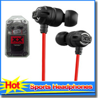 Wholesale HA FX1X Xtreme Xplosives Headphones In Ear Music Earphones Earbuds With Bag Deep Bass headphone For Phone Mp3 Mp4