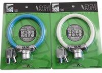 Wholesale mountain bike lock MTB BMX cycle lock keys Security kirsite cable lock
