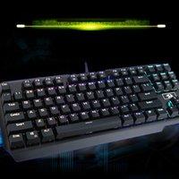 usb rgb - Redragon Pro Gaming Metal Mechanical Keyboard Slim Key Tactile Anti Ghosting RGB Full Color LED Backlit Gamer Keyboard for PC DHL C2655