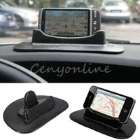 Wholesale Newest Stylish Car Universal Dashboard Anti Slip Sticky Pad Holder Stand for GPS Mobile Tablet For Iphone Plus For Sumsang order lt no tra