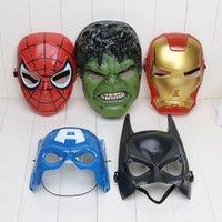 america retail - The Avengers spider man iron man Hulk Batman America captain mask retail
