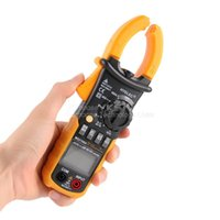 Wholesale New Portable HYELEC Digital Clamp Meter Multimeter AC DC Current Volt Tester YKS