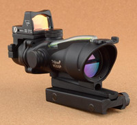 laser sight - Hot Sales Trijicon ACOG Green Light Changing Telescopic Sights Gun Sight Laser Sight Monocular