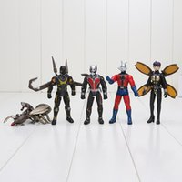 action hero films - 12cm Ant Man Action Figure Animation Film Ant Man Dolls Ant Man Super Hero Cartoon Movie Action Figure Toys