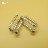 Wholesale Fight Bead Ring Puzzle Wire Big mm Magic Gadget Adult Toys Metal Puzzles Solutions