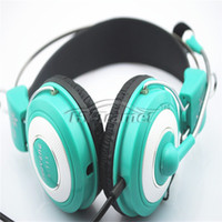 used pcs - 3 mm Jack Headset with Microphone Stereo Sound headphone with mic use for computer PC