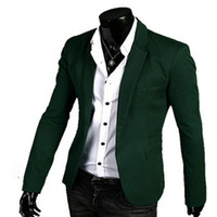 basic code clothing - solid basic a button man cotton casual suit s clothes color code