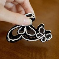 Wholesale 2016 Crystal Hair clips Korean style high quality crystal rhinestone swarovski elements for thick hair cup Hair Jewelry AC290046