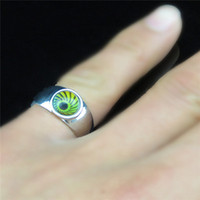 Wholesale Mood Rings Smart Rings The Magic Ring Charming Eye Magic Eye Intelligent color Creative Ring Lovers Love Gift