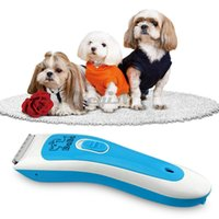 Wholesale Rechargeable Pet Trimmer Shaver Razor Dog Cat Grooming Clipper Kit