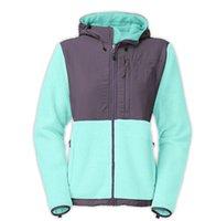 sports ribbon - New Winter Women Fleece Pink Ribbon Jacket Fashion Fleece SoftShell Down Jacket Outdoor Sports Mountaineering Sportswear Coat Black White