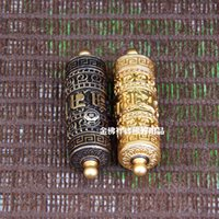 Wholesale Clifford copper pendant pendants blessing mantra Buddhist prayer wheel accessories supplies
