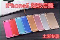 Wholesale Metal Alluminum Back Housing Case For iPhone Battery Door Back Cover with Flash Diffuser
