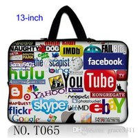 air internet - Internet Logos Notebook Handle Sleeve Case Bag Pouch Cover for quot quot quot inch Laptop