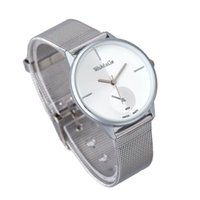 accurate time clock - Elegant Classic Womens Analog Quartz Clock Top Quality Stainless Steel Accurate Time Wrist Watch Fashion Silver Dress Watches A7