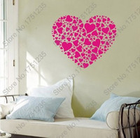Wholesale And Retail New Wall Sticker Wall Decor Removable Wall Decals PVC Vinyl Stickers QYTH