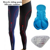Wholesale Mens Bike Cycling Pants Biking D GEL Padded Tights Outdoor Cycle Bicycle Trouser Wear Tights Green Fire