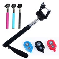 Wholesale Monopad stick with bluetooth shutter for mobile phone at factory price