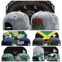 Wholesale 2015 Adjustable CAYLER SONS snapbacks Hats snapback caps Cayler and sons hat baseball hats last kings cap hater diamond snapback cap