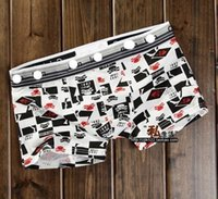 animate printing - Men s boxer pants pants animated cartoon character new men underwear panties The boxer pants pants