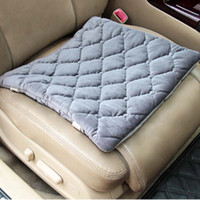 Wholesale Universal Winter Car Seat Covers Pad Heated Cushion for Vehice Front Seats Comfortable And Soft Material