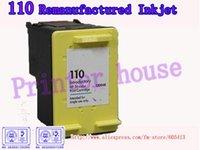 Frete Grátis por DHL / EMS !!! Atacado cartuchos remanufaturados para HP CB304A 110 cartuchos jato de tinta (10PCS / lot)