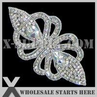 beaded patches - Bridal Rhinestone Applique Iron On Beaded Patch for Custom Wedding Dress Decoration X1 RAT2188