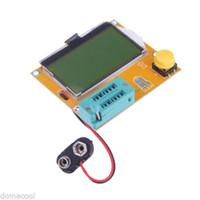 Wholesale LCR T4 ESR Meter Transistor Tester Diode Triode Capacitance SCR Inductance New