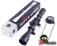 air rifle - Direct Selling New Lens x40 Mil Dot Air Rifle Gun Hunting Scope Telescopic Sight Riflescope mm Mounts