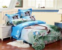 Cheap Totoro Best blue bedding