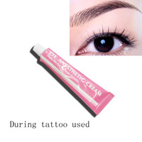Wholesale 10pcs Permanent makeup cream product for operation used eyebrow eyeliner during floating lip tattoo working cream