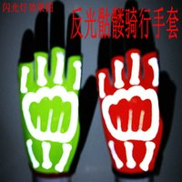 alpine mountains - Alpine Stars Motorbike Morethan Authentic Cycling Mountain Biking Gloves Outdoor Sports Half Finger Skull Reflective