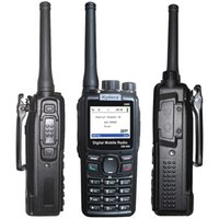 Wholesale KYD DMR DM Dual Band Walkie Talkie UHF Ham radios Digital Handheld Two Way Radios chs CB radio Motorola DMR Licensees USB Cabel