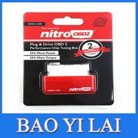 Wholesale Promotion NitroOBD2 Chip Tuning Box for Diesel and Benzine Car Plug and Drive OBD2 Chip Tuning Box More Power More Torque