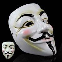 Wholesale Halloween mask Costume party party mask Hacker mask V word vendetta mask Environmental protection material V strange mask