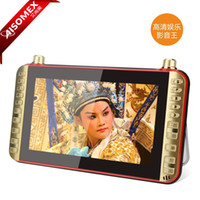 Wholesale AISOMEX N102 inch LED Screen Portable Older Theater Playing Machine Singing Microphone Square Dance Player