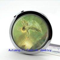 antique makeup compacts - New Arrival Makeup Mirror Fairy Pocket Mirror Compact Mirror of Antique Fairy Cute Pocket Mirror