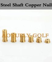 Wholesale Golf Steel Shaft Copper Nail gram Add Weight For Golf irons wedges set shafts