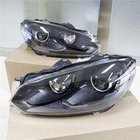 Wholesale German original Volkswagen Golf Golf GTI R20 upgrade the European version of the black xenon headlights now