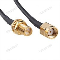 Wholesale chinagoods DIY New M Antenna RP SMA Extension Cable For Wi Fi Router RG174 fashionable