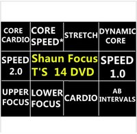 Wholesale Newest DVDs fitness Fast Shipment Shaun T s Crazy Potent Slimming Training Set Alpha Beta Gamma Core Speed