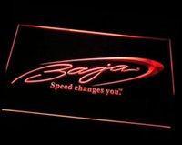 baja boats - TR Baja Boat Fishing Logo ADV LED Neon Light Sign