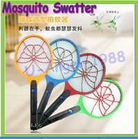 mosquito racket - New Electric Insect Bug Fly Mosquito Zapper Swatter Killer Net Racket Rechargeable