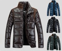 Wholesale New Casual Coat Parkas For Men Mans Winter Jacket Brand Mens Winter Military Parka Slim Outwear Jackets and Coats Clothing Size M XL