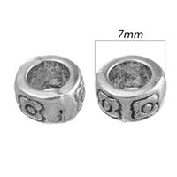 Wholesale 80PCs Ornate Ring Spacers Beads mm Hot