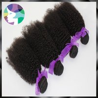 extension natural hair curl - 4Pc Remy Human Hair Extension A No processing Virgin Hair Malaysian Afro Curl Human Hair Virgin Hair Weaving For Black Women
